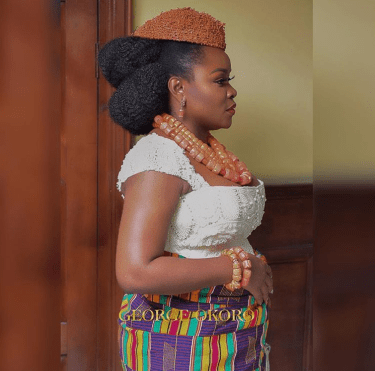 Omawumi Megbele Traditional Wedding George Okoro Weddings LoveWeddingsNG