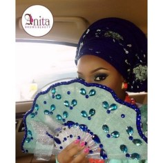 Traditional Bridal Hand Fans LoveWeddingsNG 5