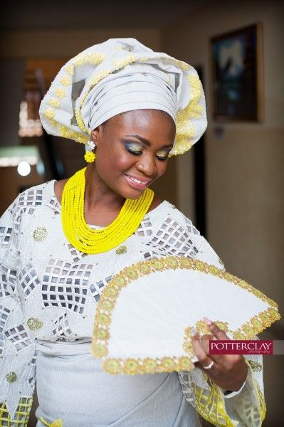 Traditional Bridal Hand Fans LoveWeddingsNG 6