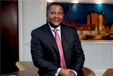 Aliko Dangote, one of Africa's richest men