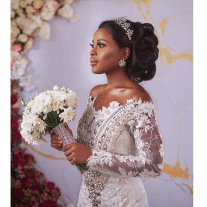 Ghanaian Berla Mundi models Sima Brew's Bridal Collection LoveWeddingsNG