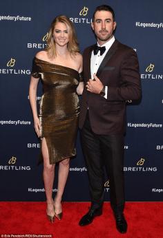 Kate Upton and Justin Verlander Breitling Global Roadshow New York City LoveWeddingsNG