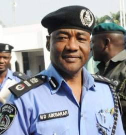 MD Abubakar, former Inspector General of Police