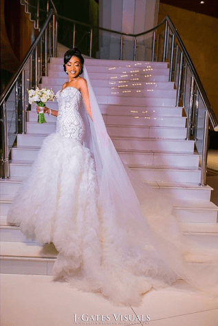 Nigerian Bride Oyindamola and Abisoye JGates Visuals Lavish Bridal LoveWeddingsNG