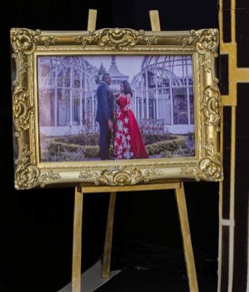 Nigerian Wedding Great Gatsby Themed Decor Diamond Ink Designs LoveWeddingsNG