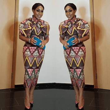Outfit: Lanre da Silva Ajayi''s Audrey Bow Dress | Event: Media Room Hub launch