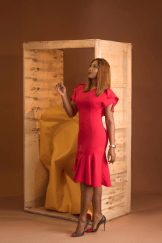 Lilian Esoro for DOS Clothing Store 2017 LoveWeddingsNG