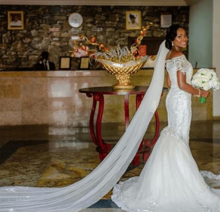 Nigerian Brides who wore Nigerian bridal designs - Ebi in Reni Smith LoveWeddingsNG 1