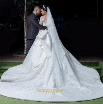 Nigerian Brides who wore Nigerian bridal designs - Maryanne Ifeoma in JBecks Bridals LoveWeddingsNG 3