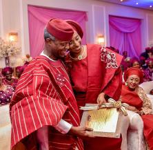 The Vice President's daughter, Damilola Osinbajo and Oluseun Bakare's Traditional Wedding #DASH18 LoveweddingsNG 5