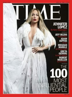Jennifer Lopez Times 100 Influential People Cover LoveWeddingsNG