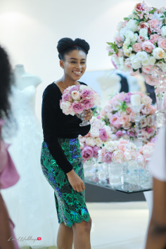 Makida Moka Lagos Bridal Fashion Week 2018 Press Cocktails LoveWeddingsNG