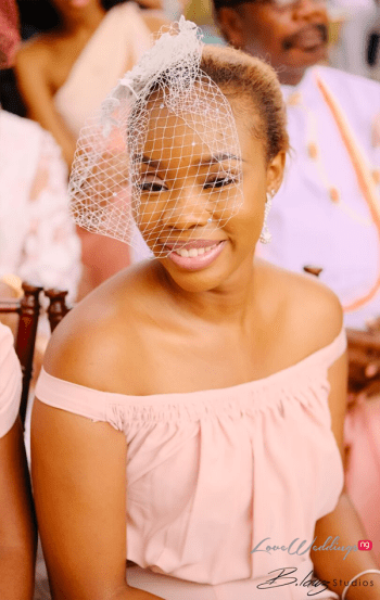 Nigerian Bridesmaid Ini and Femi's Rustic Nigerian Wedding LoveWeddingsNG 2