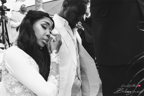 Nigerian Emotional Bride Ini and Femi's Rustic Nigerian Wedding LoveWeddingsNG