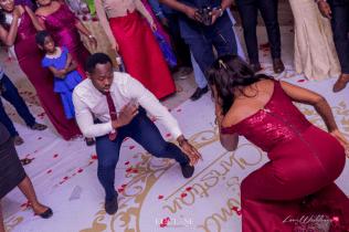Nigerian Wedding Chidinma and Christian's White Wedding Bridesmaid and Groomsman Dance Off LoveWeddingsNG 1