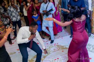 Nigerian Wedding Chidinma and Christian's White Wedding Bridesmaid and Groomsman Dance Off LoveWeddingsNG 3