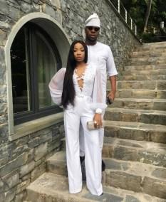 Mo'Cheddah and Prince Bukunyi Olateru Olagbegi Nigerian Celebrity Couple Get Married LoveWeddingsNG