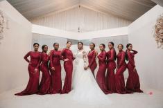 Nigerian Bride and Bridesmaids #Ayowa18 Wani Olatunde Photography LoveWeddingsNG (2)