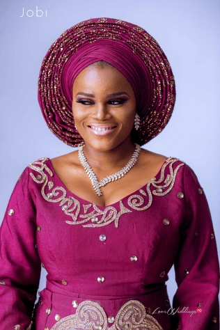 Nigerian Traditional Wedding Tobi and Efe #TheObodos Planned by MoAmber Concepts LoveWeddingsNG - Bridal Makeup 1