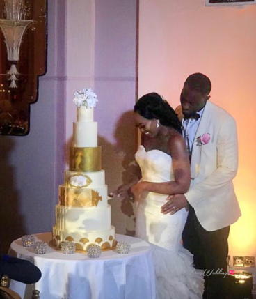 Uloma and Michael's Grand Wedding in London 7 tier cake #UlomaMichael18 LoveWeddingsNG