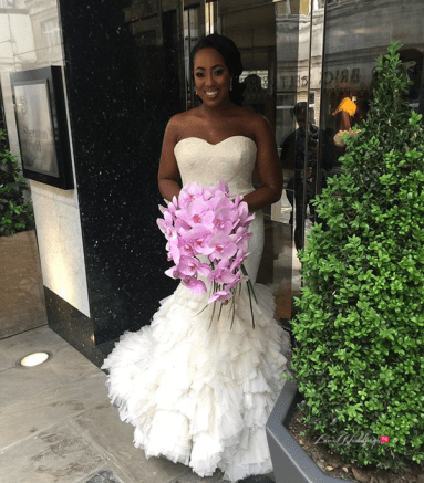Uloma and Michael's Grand Wedding in London Bride in Vera Wang #UlomaMichael18 LoveWeddingsNG 1