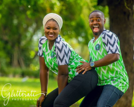 Nigerian PreWedding Shoot Nike Naija Kit Glitteratti Photography LoveWeddingsNG 2