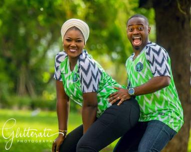 Nigerian PreWedding Shoot Nike Naija Kit Glitteratti Photography LoveWeddingsNG 2