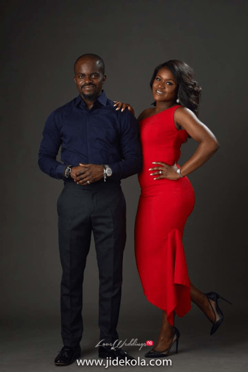 Nigerian Studio Pre Wedding Shoot #SnR18 LoveWeddingsNG 1