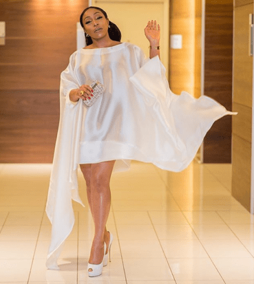 Rita Dominic in Lanre Da Silva Ajayi at Moet Chandon Grand Party LoveWeddingsNG