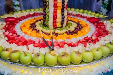 Damilola Ambode and Temi Ojelabi's Nigerian Wedding Fruit Table Fruit Tree #MeetTheAmbodes MoAmber Concepts LoveWeddingsNG107 2