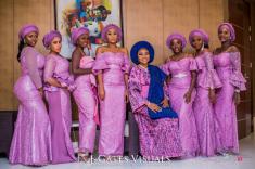 Damilola Ambode and Temi Ojelabi's Nigerian Wedding #MeetTheAmbodes MoAmber Concepts LoveWeddingsNG12