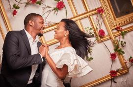 Hauwa Indimi and Mohammed Yar'Adua PreWedding #MUHA18 LoveWeddingsNG