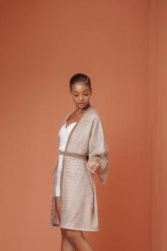 Knanfe's Debut Collection Cosmopolitan LoveWeddingsNG - Bridal Robe 2