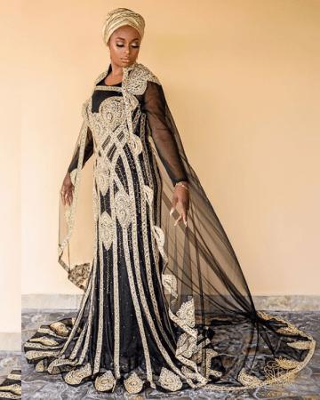 Nigerian Beauty Influencer Ronke Raji and Banji's Traditional Wedding #RnBLove2018 LoveWeddingsNG 4