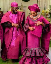 Nigerian Beauty Influencer Ronke Raji and Banji's Traditional Wedding #RnBLove2018 LoveWeddingsNG 9