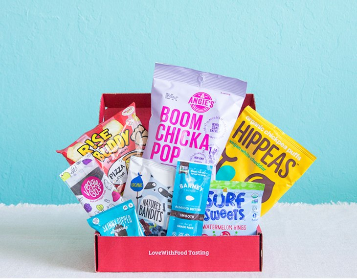 Love with Food Snack Subscription box - high school graduation gift idea