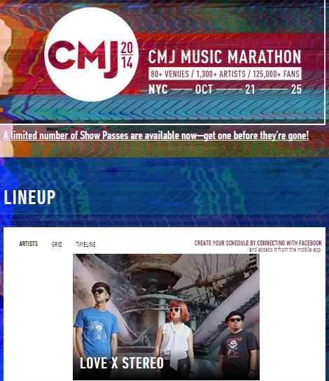 CMJ Music Marathon 2014
