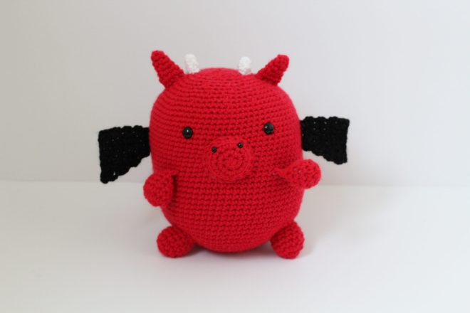 Free Crochet Dragon Pattern Lovey Dovey Yarns