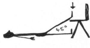 partial supta padangustasana 2