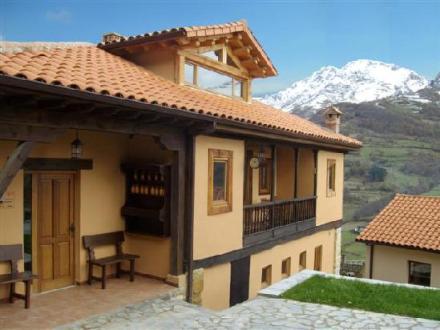 Vista desde el hotel Fuentes de Lucia