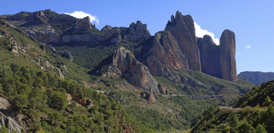 vista montaña desde ubiergo
