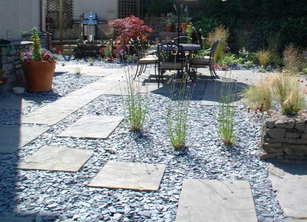 slate garden landscaping 1000+ ideas about Blue Slate Chippings on Pinterest