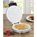 Ceramic Non Stick Kitchen Top Waffle Iron Maker