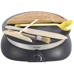VonShef Professional High Quality Electric Crepe and Pancake Make