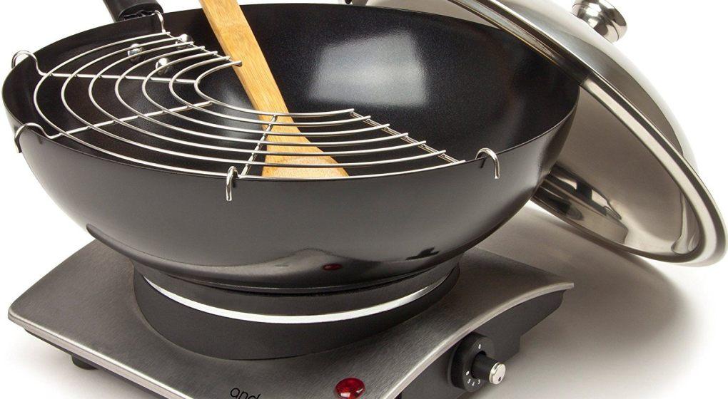 cheap electric wok