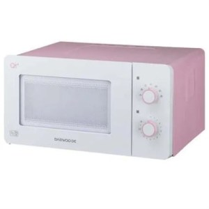 pink microwave oven