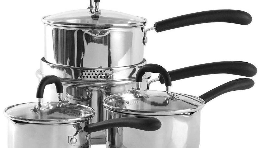 ProCook Gourmet Steel Saucepan Set