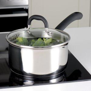 procook saucepan set in use