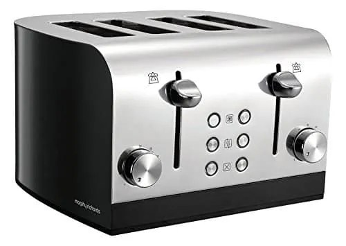 Morphy Richards Equip 4 Slice Toaster 241000 Review