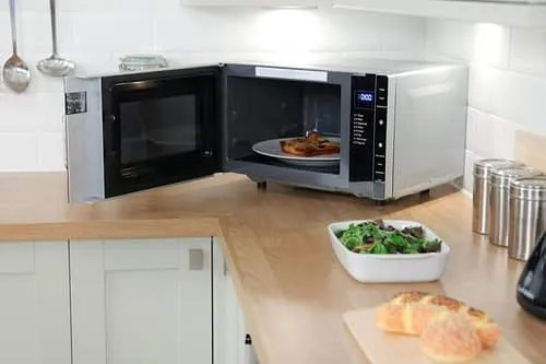 flatbed microwave review
